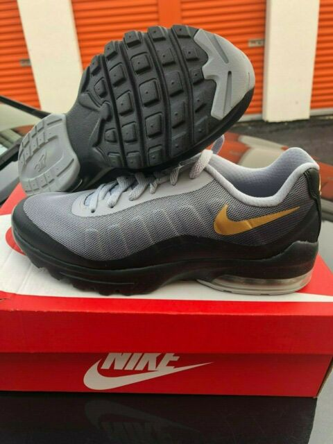 Best Sell Nike Air Max Invigor Print 95 Wolf Grey Black