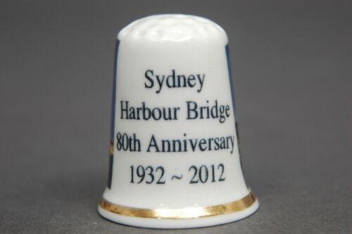 110 Sydney Hafen Brücke 80th Jubiläum 1932-2012 Australien China Fingerhut B