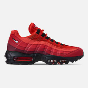 d5e642ec49 AUTHENTIC NIKE Air Max 95 OG Habanero Red Wht University Red AT2865 ...