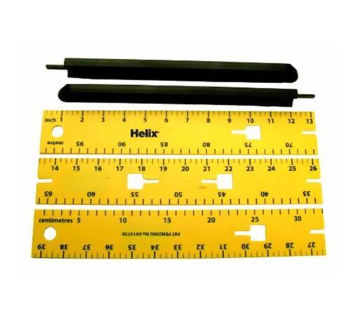 Helix Whiteboard Ruler X60040 Magnetic Metre Rule classroom Ref