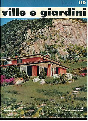 Ville E Giardini 110 Gorlich Novembre 1965 Rivista