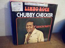 "SP 7"" CHUBBY CHECKER - Limbo rock - Etiquette JUKEBOX VG+/EX - LONDON - BELGIUM"