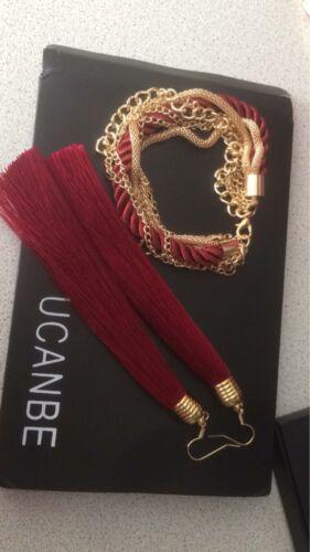 Fashion Women Boho Dangle Drop Earrings Long Tassel Fringe Hook Party Jewellery