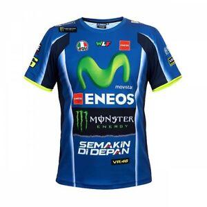 d1f0ebe832203 Originale VR46 Moto Valentino Rossi Yamaha Motogp T-Shirt - Blu