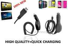 New 100% Car Charger For Toshiba K01,TG01,TG02,Windows Phone IS12T,Excite 10 SE