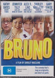 Bruno-DVD-Shirley-MacLaine-Jennifer-Tilly-Region-4-New-and-Sealed