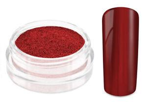 Nailart Mirror Chrome Puder fall in love Nagel Pulver Pigment Spiegel Glanz Gel