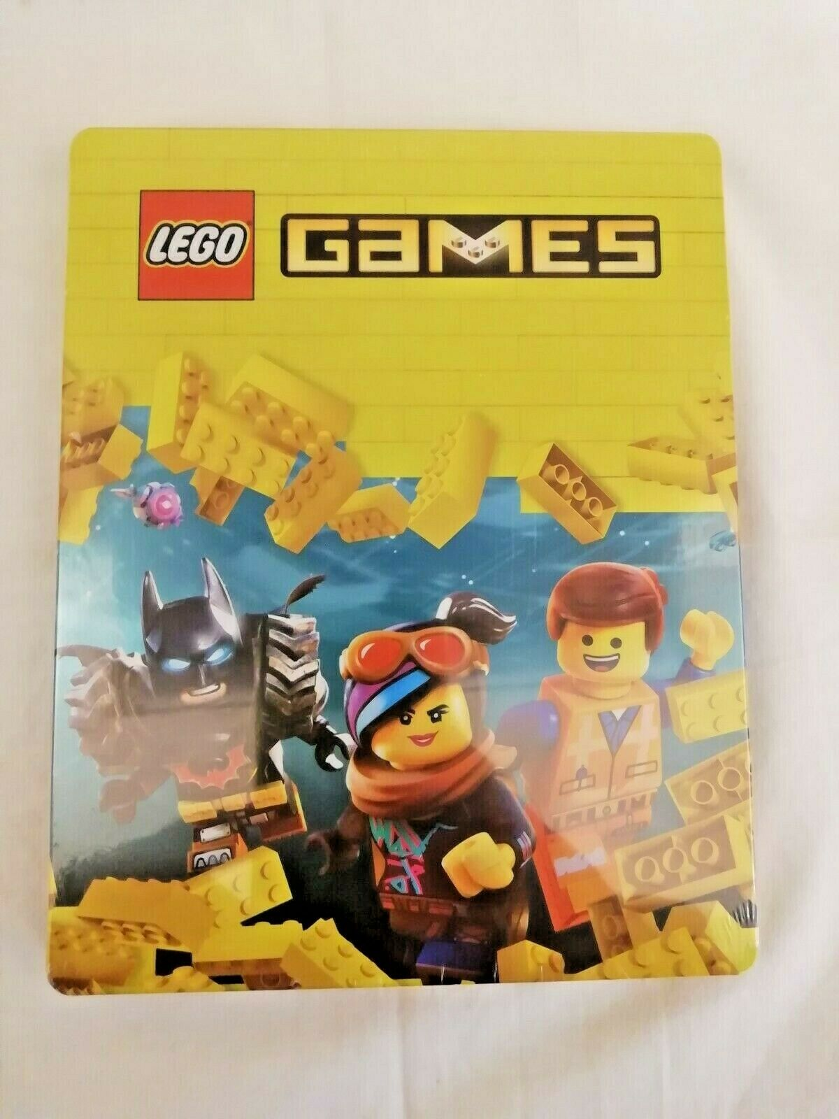 Steelbook Box Metallic (Doesn'T Contains Set) LEGO Games PS4 Xbox One Rare New