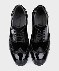 Baby Boys Kids Suede Patent Formal