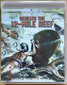 Beneath-die-12-Mile-Reef-Blu-Ray-1953-Klassisch-Twilight-Time-Limitierte-Ed-Bnib