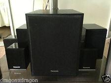 Panasonic 5.1 Dolby Digital Lautsprecher, SB-W300, SB-DT100, SB-AFC301, Garantie