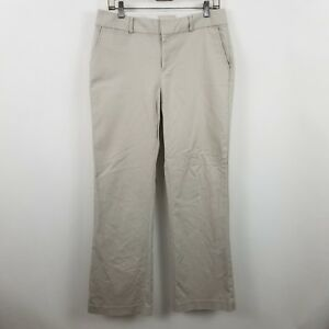 Banana-Republic-Jackson-Fit-Women-039-s-Beige-Chino-Career-Dress-Pants-Sz-8r