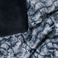 Soft Embossed Fuzzy Throw 50 X 60 Inches Feels Wonderful on sale