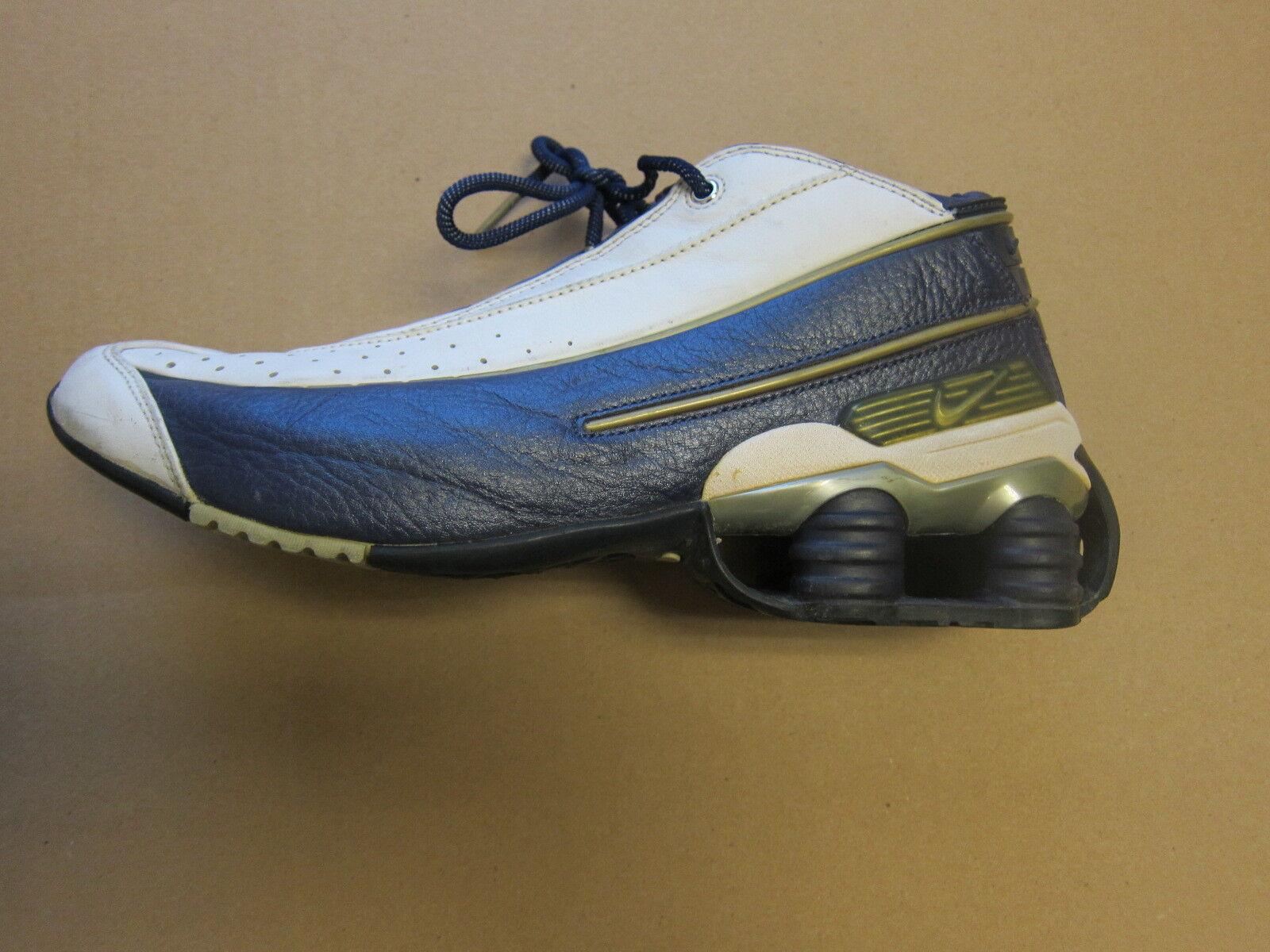 nike shox ken griffey jr nestlö 2002 ausbildung sneaker männer marine blau - weißer männer sneaker größe 10,5 7163ce