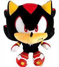 Tomy Sonic Boom Small Big Head Plush Shadow