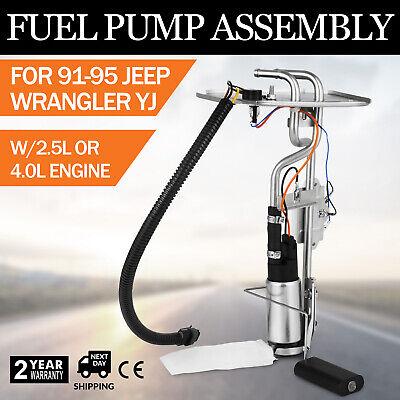 Fuel Pump Sending Unit for Jeep Wrangler 1991-1995 2.5L 4.0L w// gasket 92 93 USA
