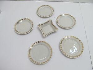 MES-47536-Altes-Porzellan-Puppenstuben-Geschirr-6-Teile-Durchmesser