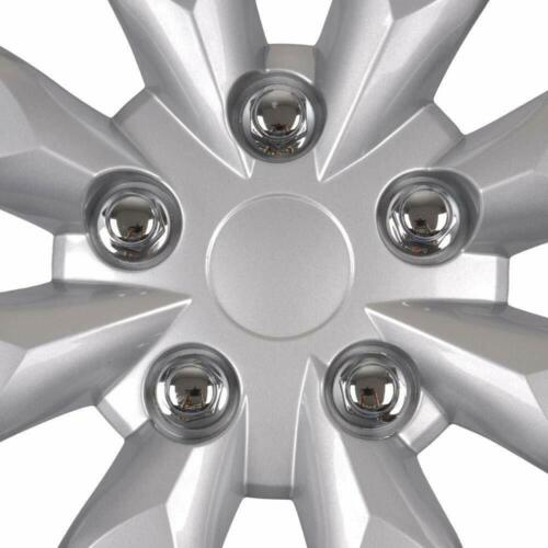 """16/"""" Hubcaps for Car Accessories Wheel Covers Replacement Tire Rim Replica 4-Pack"""