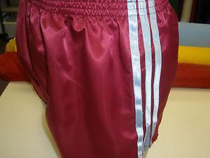 Blue Claret Retro Nylon Satin Sprinter Shorts S 4XL