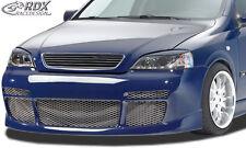 RDX Stoßstange Opel Astra G auch Coupe Cabrio Front Schürze Vorne Spoiler 040