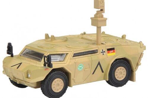 Isaf - Neu Flecktarn Schuco 26249-1//87 Fennek Panzerspähwagen Bundeswehr