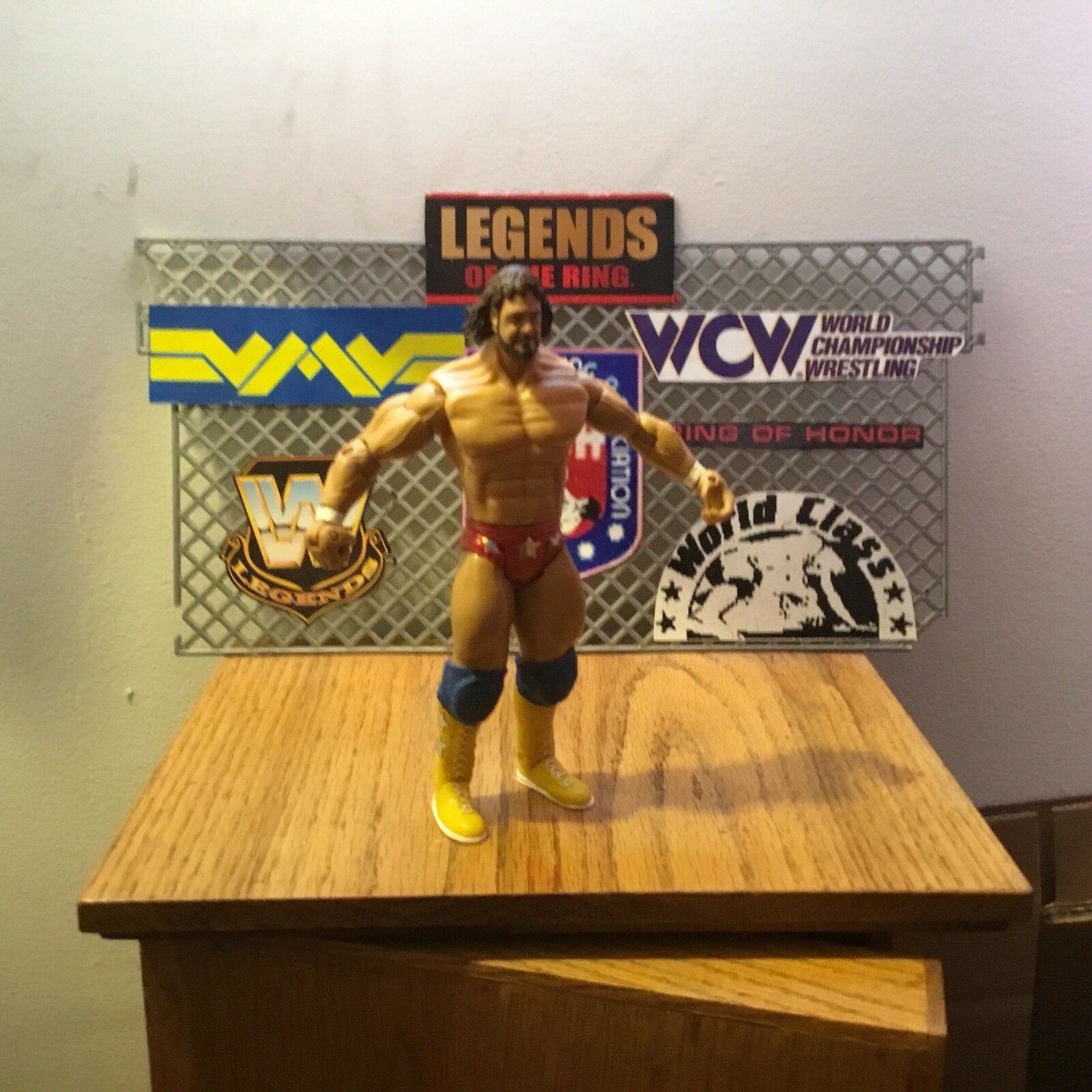 Figura Personalizada Wrestling Jakks Macho Man