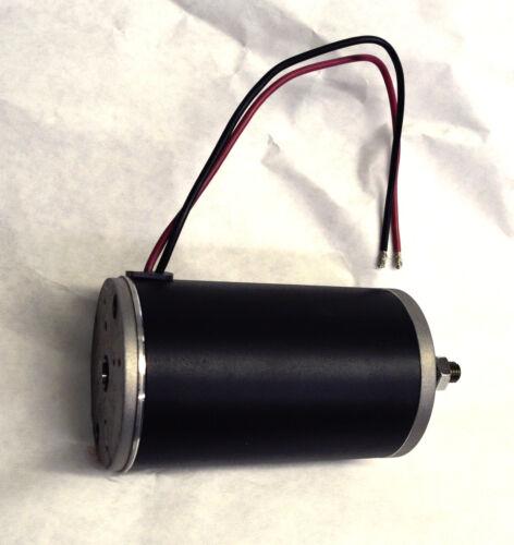 1 hp 90 high Volt for light LI-ION-CP battery Go Kart electric DC motor 3000 RPM