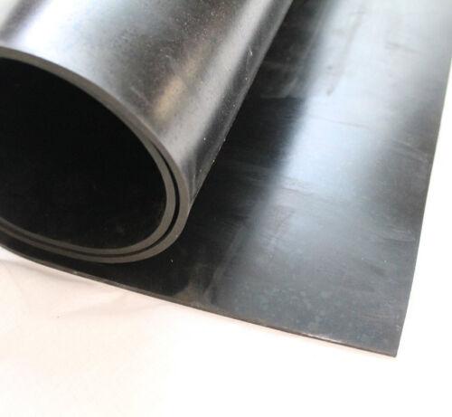 Gummimatte EPDM 5mm 1200x200mm 120x20cm 1 Einlage Dichtung ozon witterung Gummi