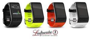 Garmin-Vivoactive-HR-GPS-NEU-schwarz-weiss-gelb-rot-Pulsmessung-am-Handgelenk