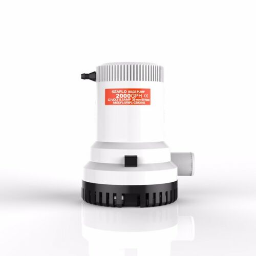 SEAFLO Marine Bilge//Sump Pump 2000GPH 12v All New 4 Year Warranty!