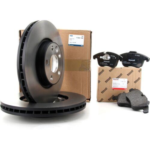 WA6 ORIGINAL Ford Bremsen Kit Bremsscheiben vorne Bremsbeläge GALAXY S-MAX