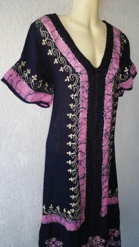 PLAGE Robe Robe D/'été Robe tunique GOA Boho Hippie Beach Indo vintage