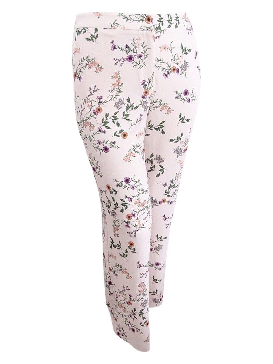 Alfani Women's Plus Size Printed Wide-Leg Pants