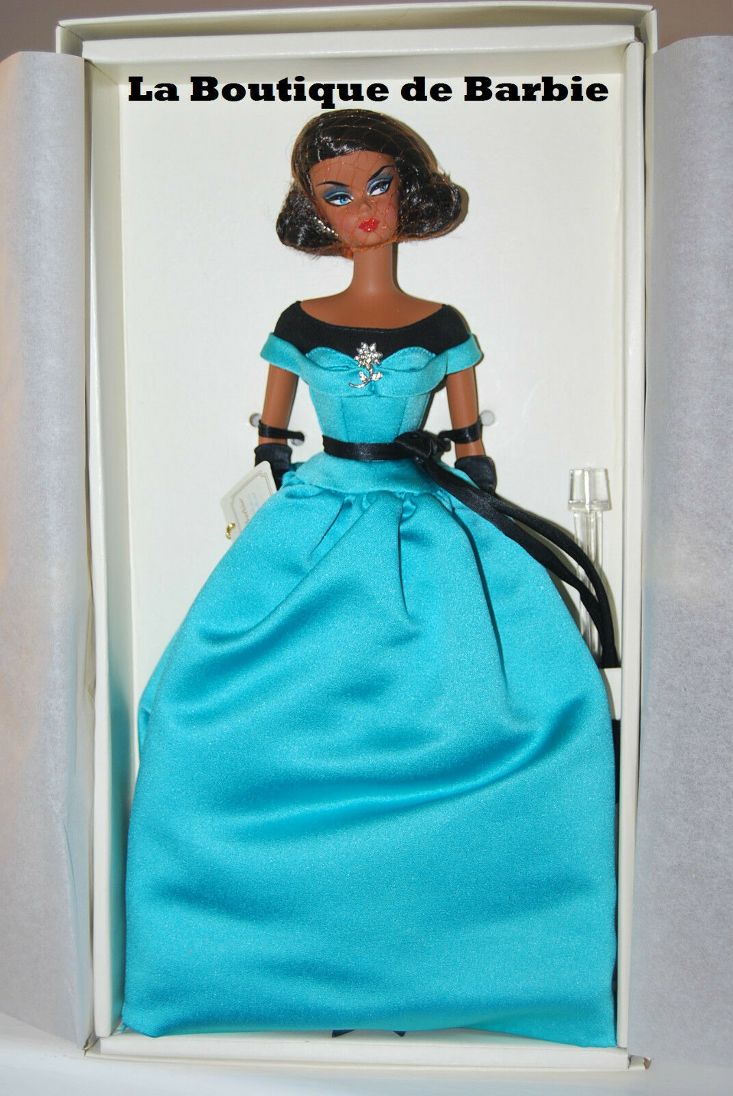 BALL GOWN SILKSTONE BARBIE DOLL, BARBIE FASHION MODEL COLLECTION X8275 2013 NRFB