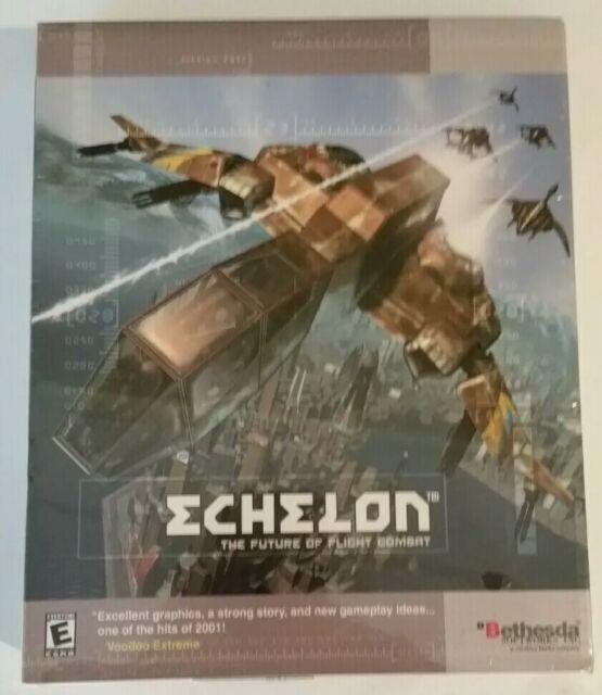 Echelon - The Future of Flight Combat (PC, 2001)