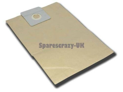 Per adattare mastervac mv12 Aspirapolvere Carta Sacchetto di Polvere Pacco Da 10