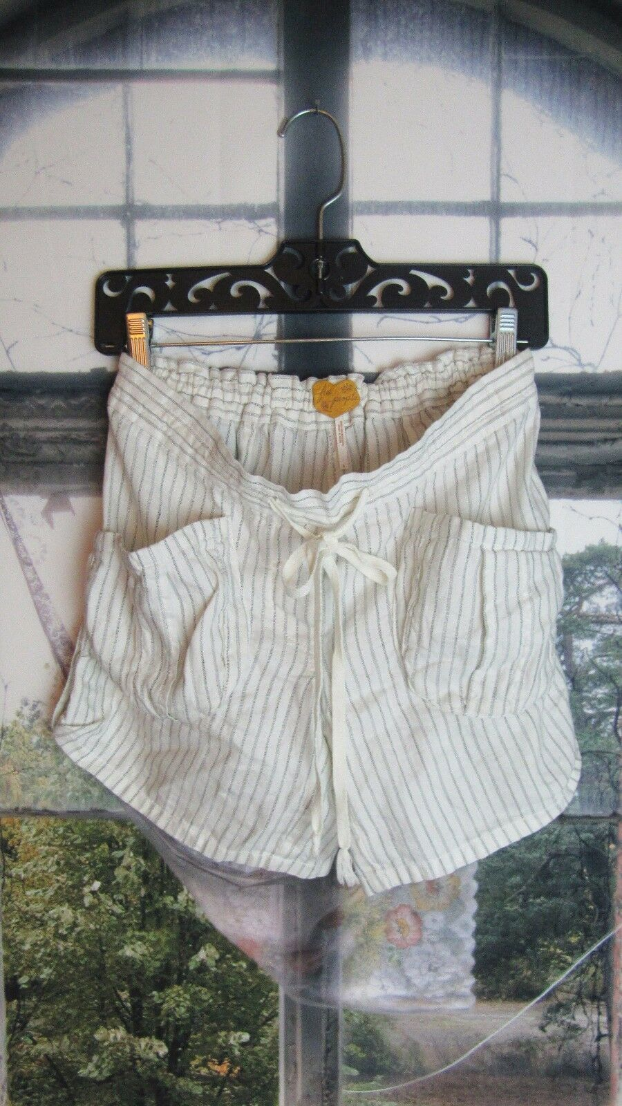 Anthropologie Free People Linen Blend Shorts. Size 4. So Cute