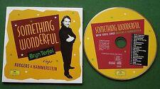 Bryn Terfel Something Wonderful Broadway Musicals Rodgers & Hammerstein CD