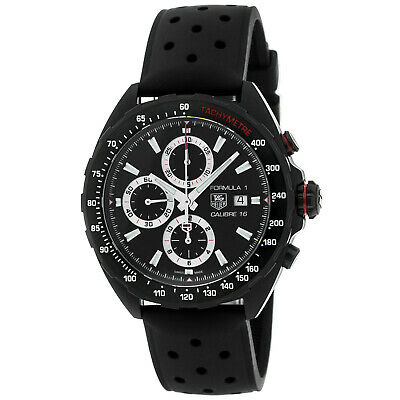 Tag Heuer Formula 1 Calibre Chronograph 44MM Black Men's Watch CAZ2011.FT8024