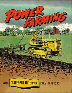 Caterpillar D2 Power Farming Book 1952