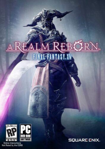 Box Art Final Fantasy XIV Online A Realm Reborn Poster High Quality Prints