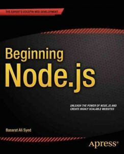 Beginning-Node-js-Paperback-by-Syed-Basarat-Brand-New-Free-shipping-in-th