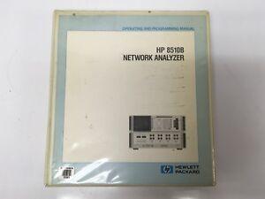 HP-8510B-Network-Analyzer-Operating-and-Programming-Manual