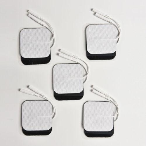 10X Tens Massager Elektroden Pads wiederverwendbare selbstklebende Gut AB