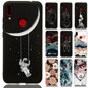 Pour Xiaomi Redmi Note 9 Pro 8 T 7 8 Pro Slim Silicone Souple peint TPU Case Cover