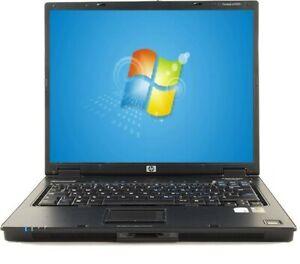 "HP Compaq nc6320 LAPTOP WIN 7 WIFI 2GB RAM 250GB HDD 15"" Intel Dual Core"