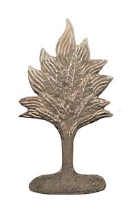 Burning Bush Nickel-Plated Symbol For Orange Order Collarette