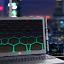 Laptop-Skin-Wrap-Universal-for-13-inch-Metal-Grid-Futuristic-Panel 縮圖 6