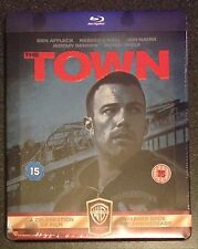 THE TOWN Blu-Ray SteelBook UK Exclusive Extended Cut, Alternate Ending. New Rare