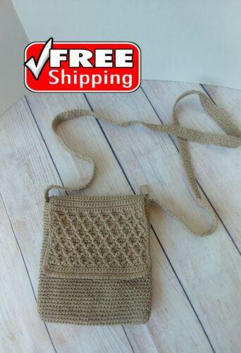 Women's Messenger Bags Vintage Straw Purse Crochet